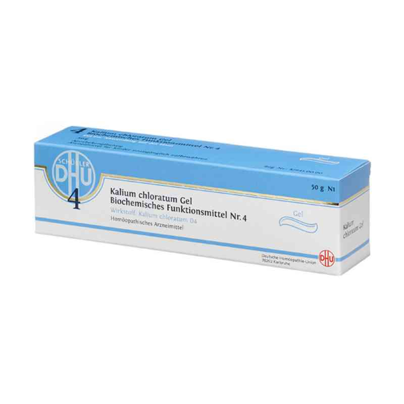 Biochemie Dhu 4 Kalium chloratum D 4 Gel  zamów na apo-discounter.pl