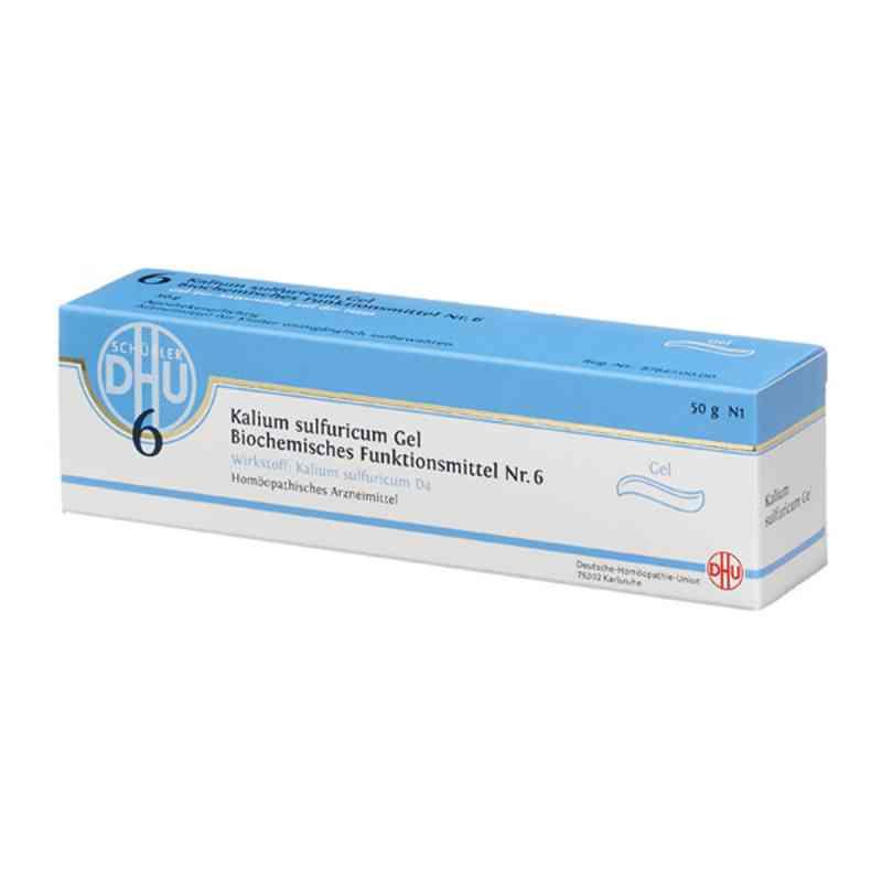 Biochemie Dhu 6 Kalium sulfuricum D 4 Gel  zamów na apo-discounter.pl
