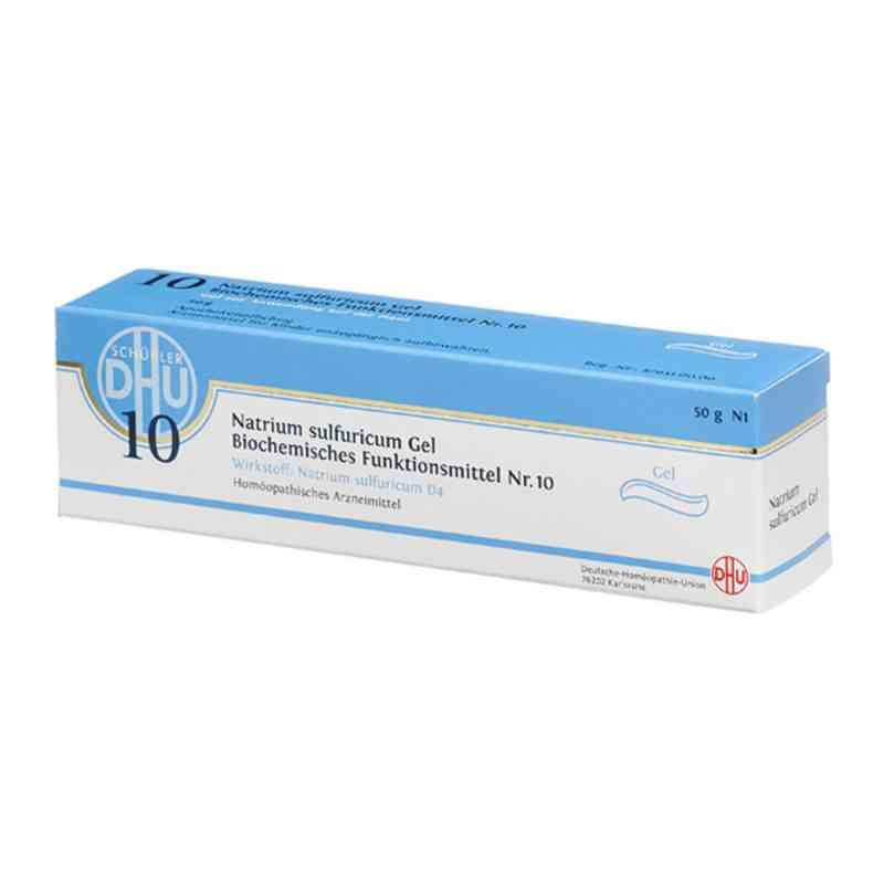 Biochemie Dhu 10 Natrium sulfuricum D 4 Gel zamów na apo-discounter.pl