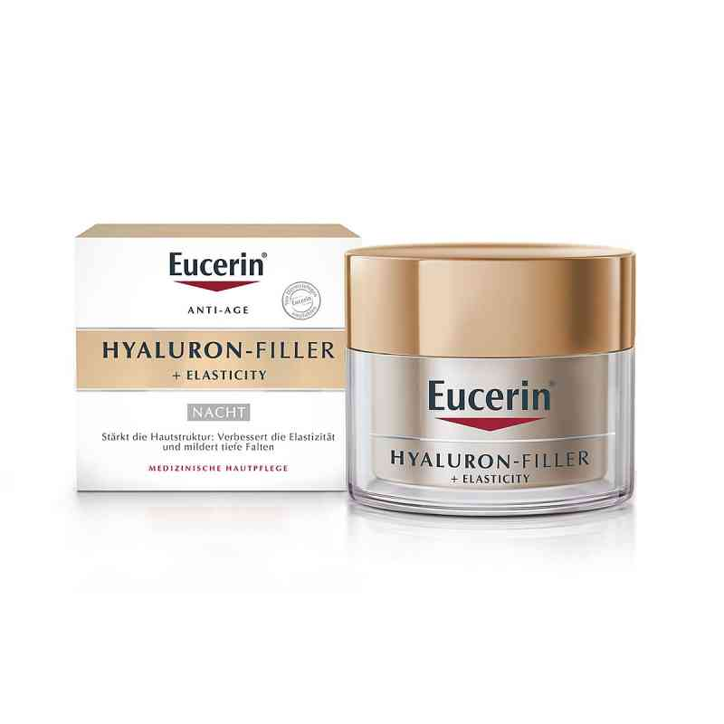 Eucerin Hyaluron-Filler + Elasticity krem na noc  zamów na apo-discounter.pl
