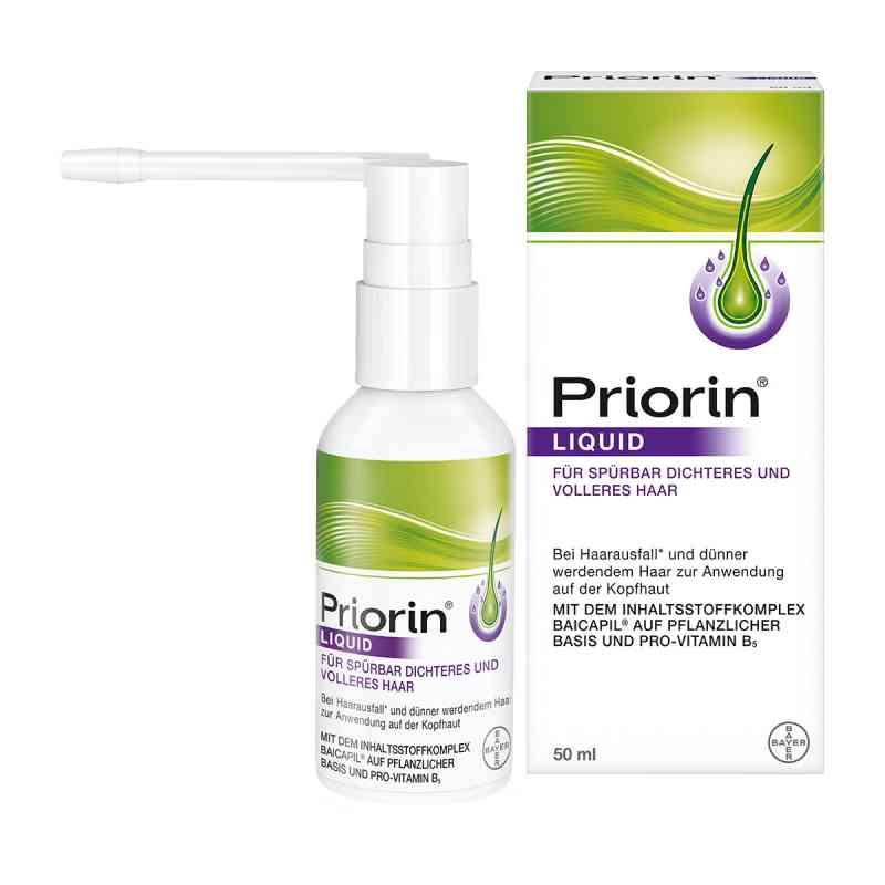 Priorin płyn przeciw wypadaniu włosów z praktyczną pompką  zamów na apo-discounter.pl