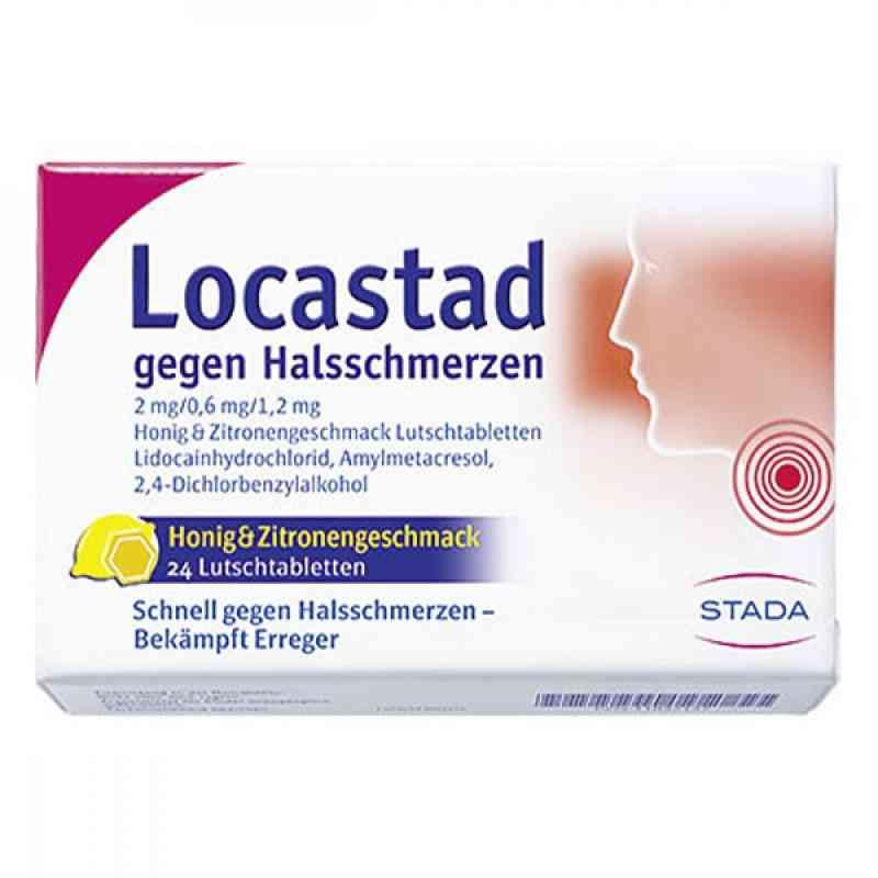 Locastad gegen Halsschmerzen Honig-zitrone Lut.-t.  zamów na apo-discounter.pl