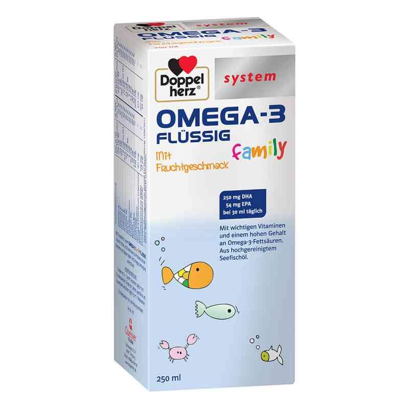 Doppelherz Omega-3 family flüssig system  zamów na apo-discounter.pl