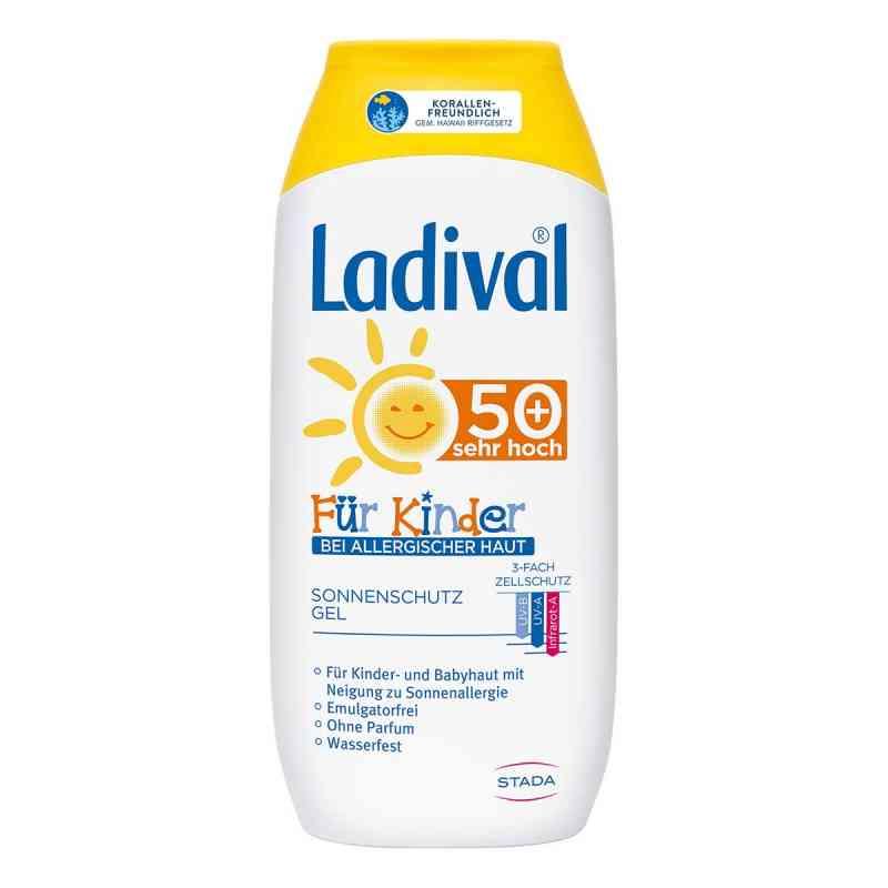 Ladival dziecięcy żel przeciwsłoneczny do skóry alergicznej Lsf   zamów na apo-discounter.pl