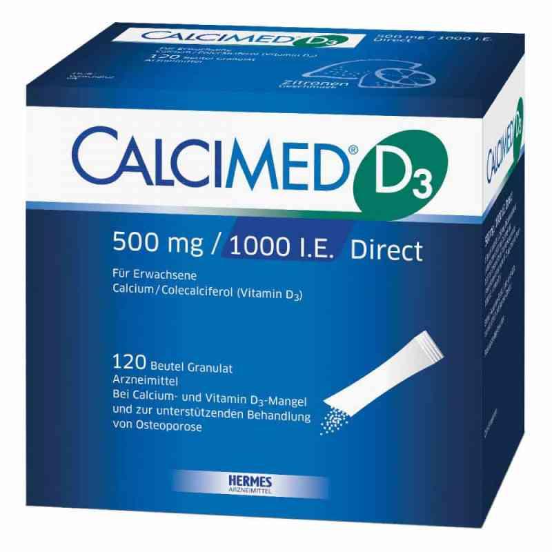 Calcimed D3 500 mg/1000 I.e. Direct Granulat zamów na apo-discounter.pl