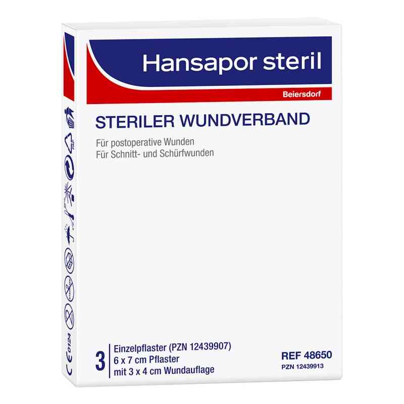 Hansapor steril Wundverband 6x7 cm  zamów na apo-discounter.pl