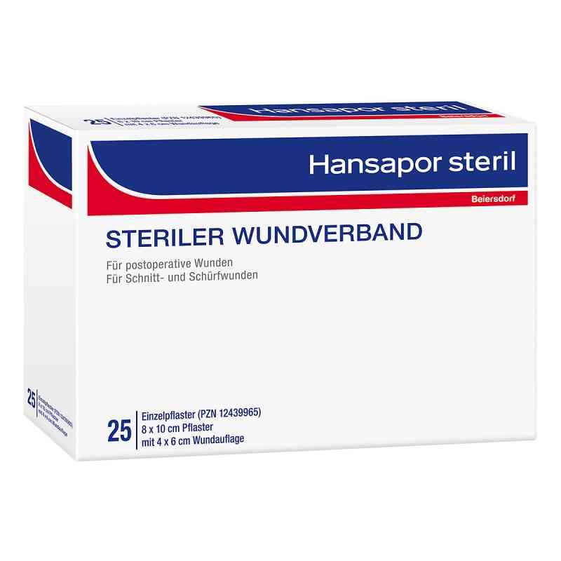 Hansapor steril Wundverband 8x10 cm  zamów na apo-discounter.pl