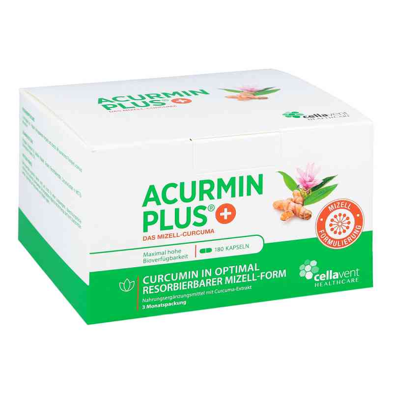 Acurmin Plus Das Mizell-curcuma Weichkapseln  zamów na apo-discounter.pl