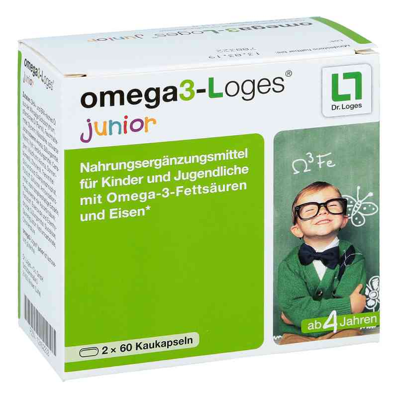 Omega 3-loges junior Kaudragees  zamów na apo-discounter.pl