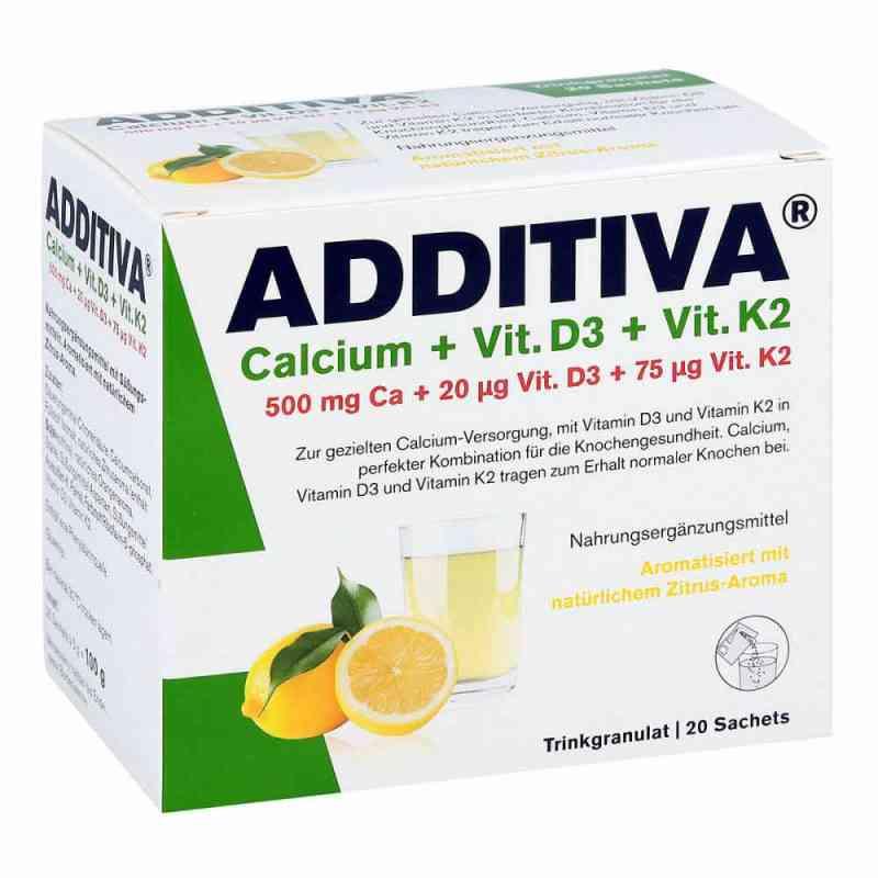 Additiva Calcium+d3+k2 Granulat zamów na apo-discounter.pl
