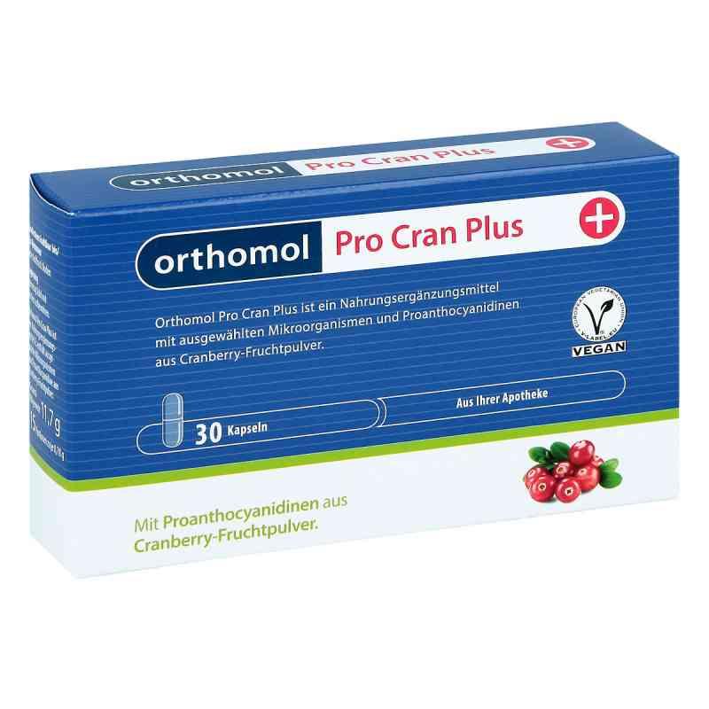 Orthomol Pro Cran Plus kapsułki zamów na apo-discounter.pl