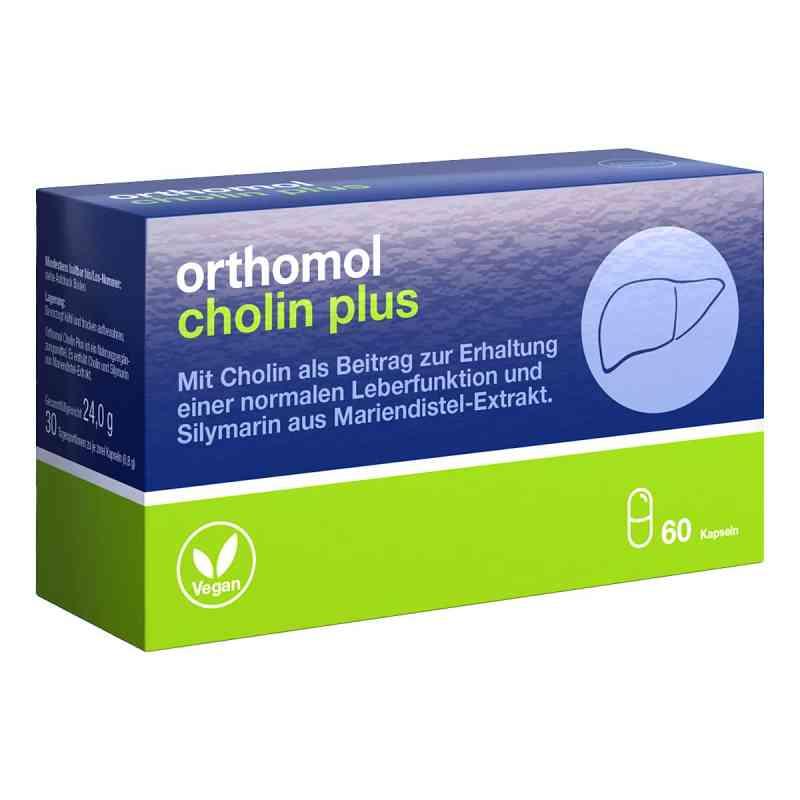 Orthomol Cholin Plus kapsułki  zamów na apo-discounter.pl