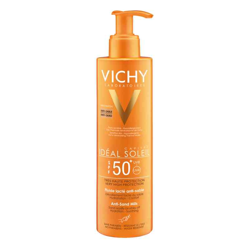 Vichy Ideal Soleil Płyn antypiaskowy z filtrem SPF 50+ zamów na apo-discounter.pl