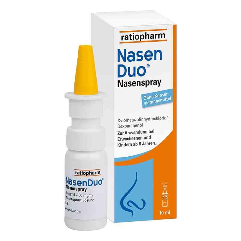 Nasenduo Nasenspray  zamów na apo-discounter.pl