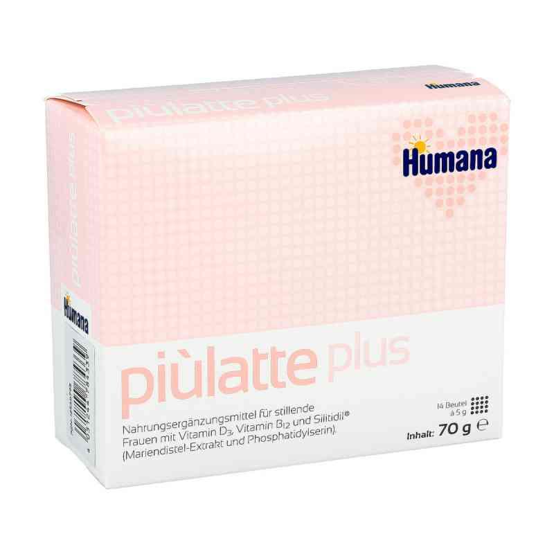 Piulatte plus Humana saszetki dla kobiet karmiących piersią zamów na apo-discounter.pl