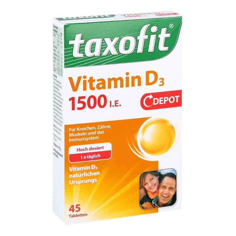 Taxofit Vitamin D3 1500 I.e. Depot Tabletten  zamów na apo-discounter.pl