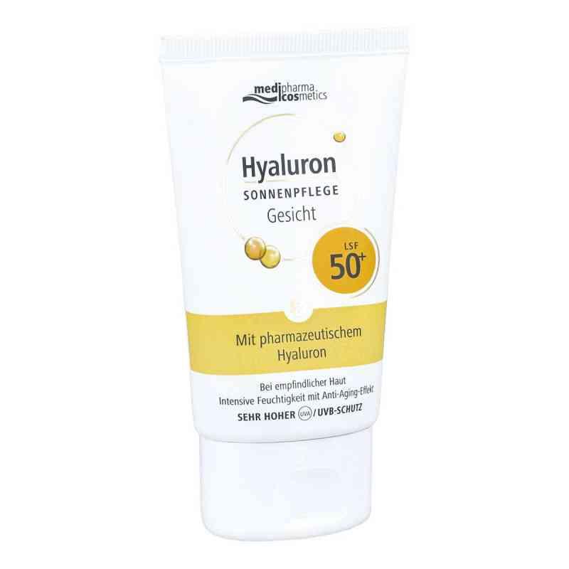 Medipharma Hyaluron krem przeciwsłoneczny do twarzy SPF50+  zamów na apo-discounter.pl