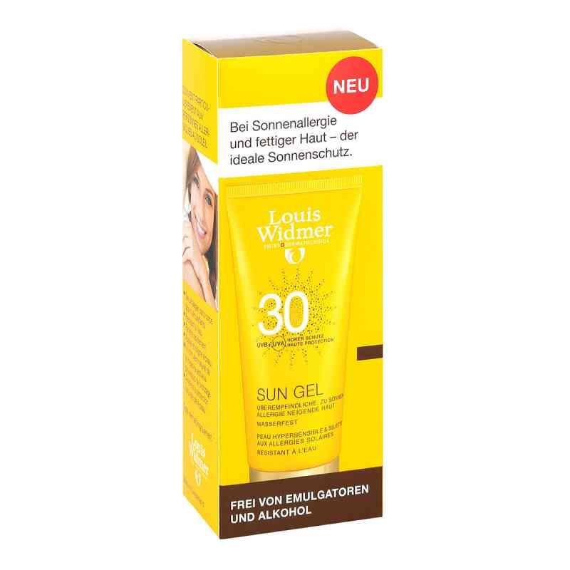 Widmer Sun Gel 30 leicht parfümiert  zamów na apo-discounter.pl