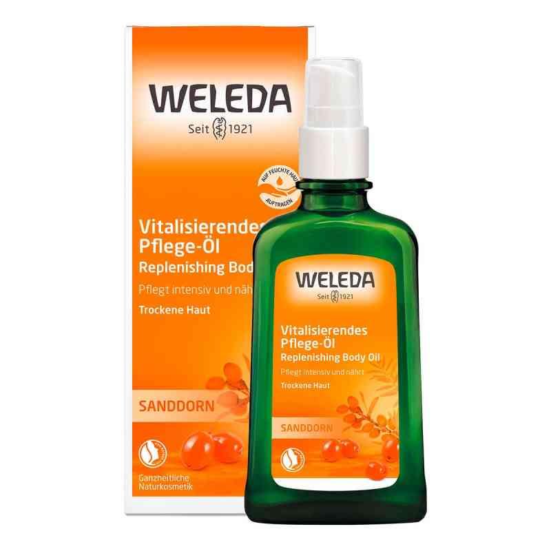 Weleda Sanddorn vitalisierendes Pflege-öl  zamów na apo-discounter.pl