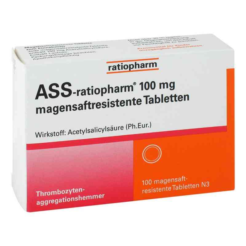 Ass ratiopharm 100 mg magensaftresistent   Tabletten zamów na apo-discounter.pl