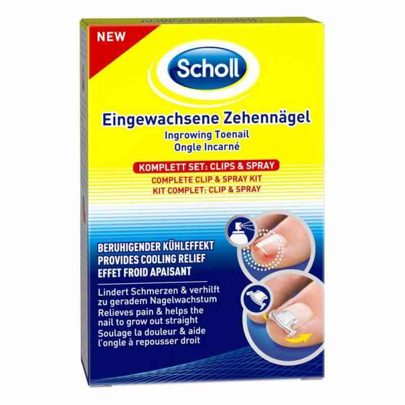 Scholl Eingewachsene Zehennägel Clips & Spray  zamów na apo-discounter.pl