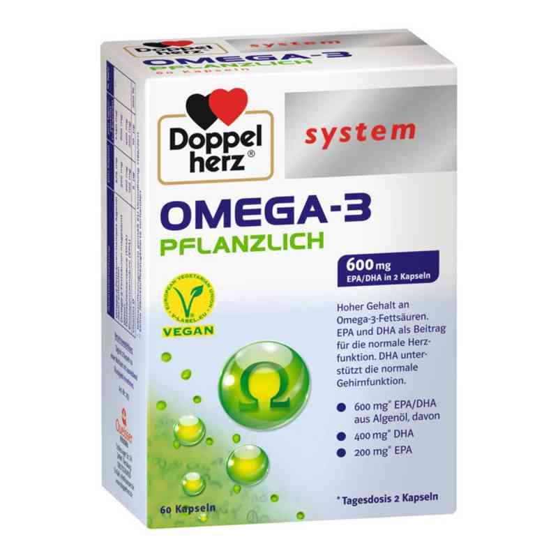 Doppelherz Omega-3 pflanzlich system Kapseln  zamów na apo-discounter.pl