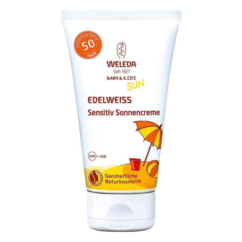 Weleda Edelweiss Sensitiv So.cr.lsf 50 Baby & Kids  zamów na apo-discounter.pl