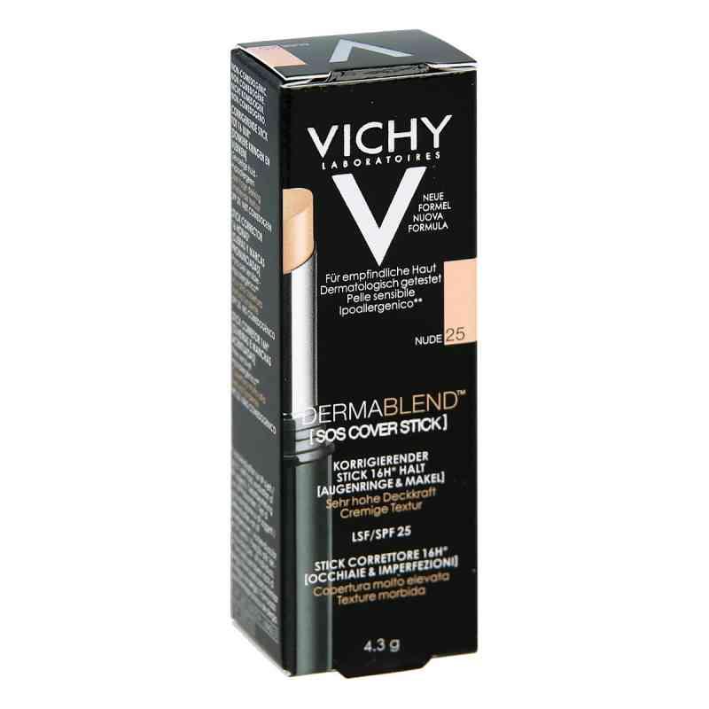 Vichy Dermablend SOS cover stick – korektor w sztyfcie odcień 25  zamów na apo-discounter.pl