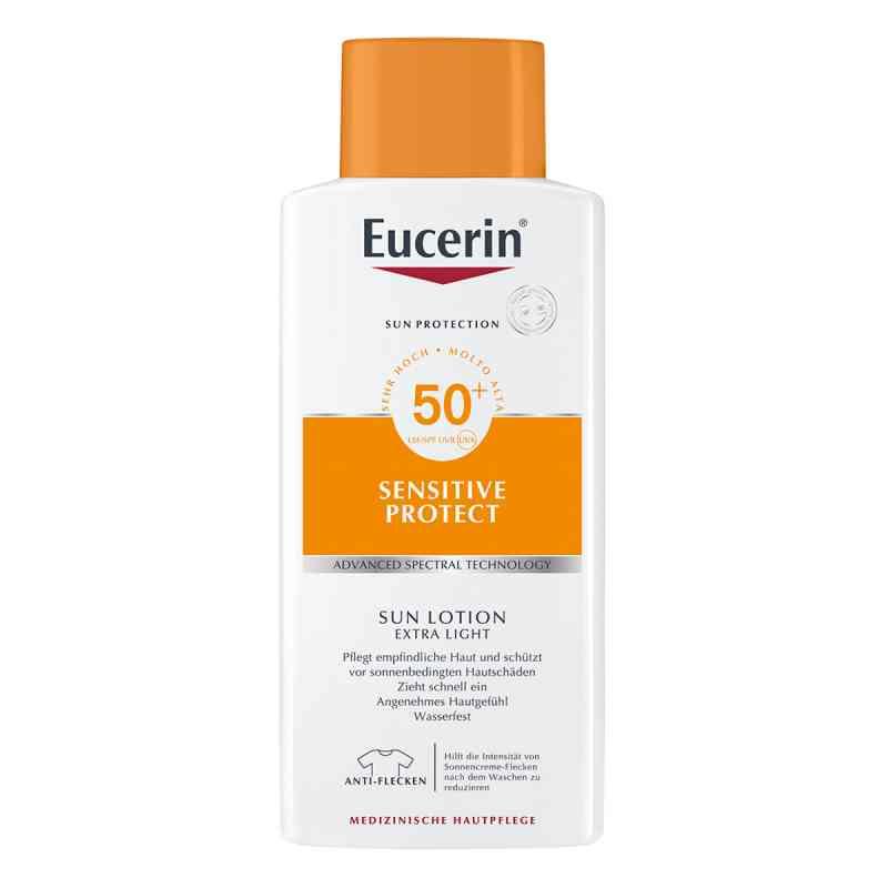 Eucerin Sun balsam ochronny, ekstra lekka formuła Lsf 50+ Promo  zamów na apo-discounter.pl