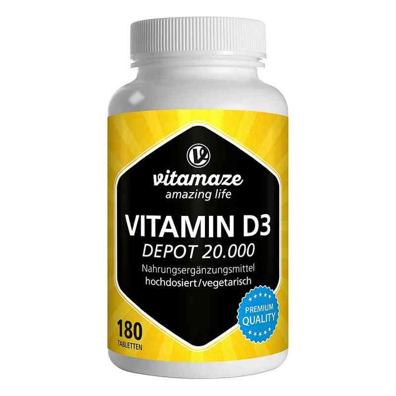Vispura Vitamin D3 Depot 20.000 tabletki  zamów na apo-discounter.pl