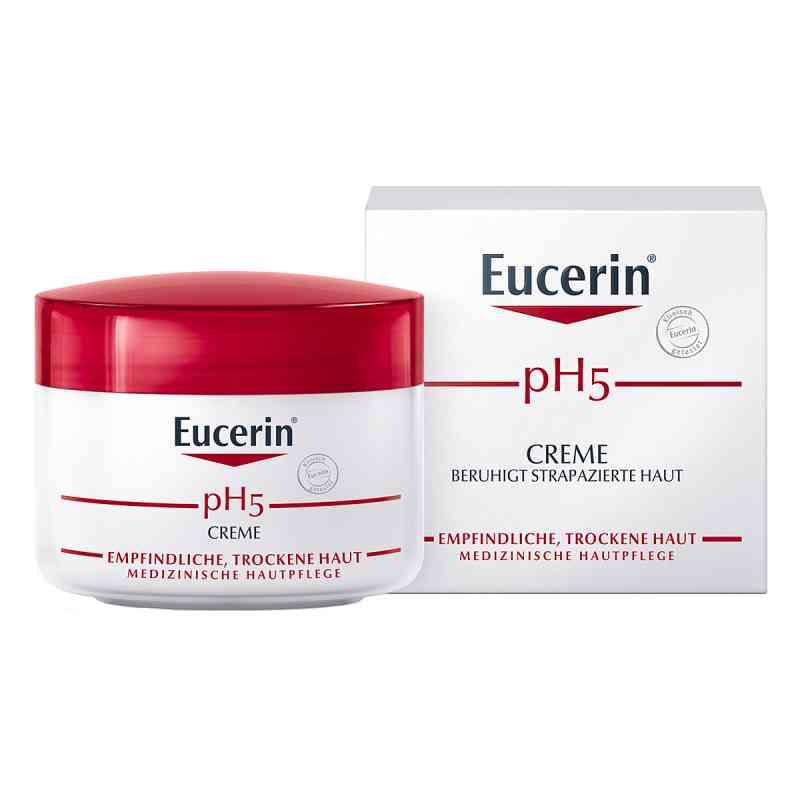 Eucerin pH5 Creme empfindliche Haut  zamów na apo-discounter.pl