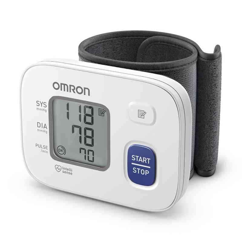 Omron Rs2 Handgelenk Blutdruckmessgerät Hem-6161-d  zamów na apo-discounter.pl