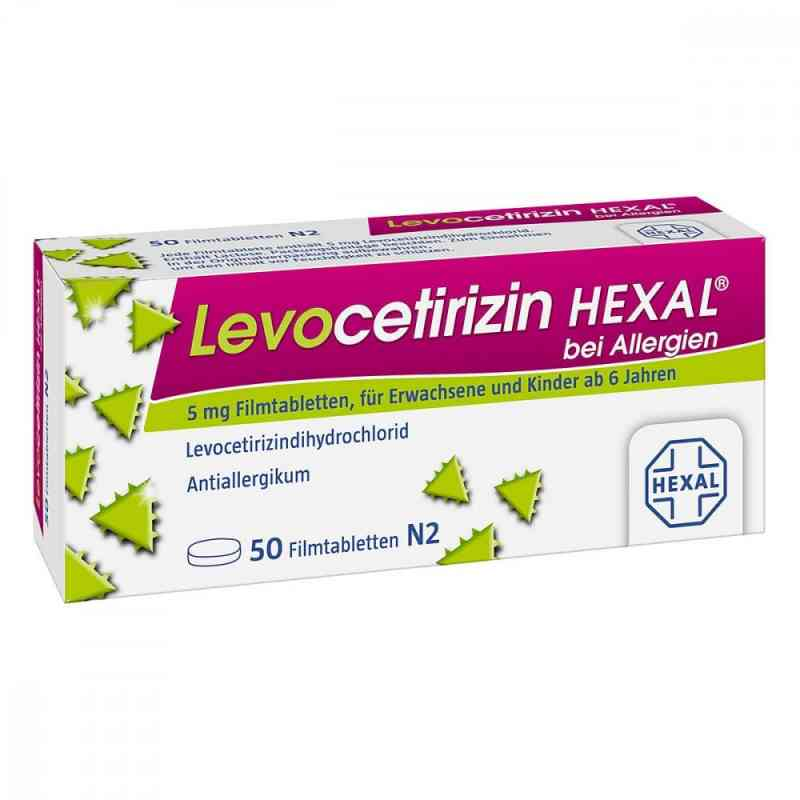 Levocetirizin Hexal bei Allergien 5 mg Filmtabletten   zamów na apo-discounter.pl