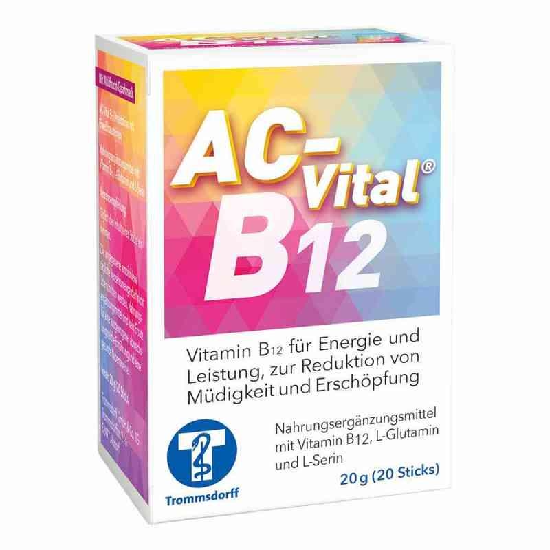 Ac-vital B12 Direktsticks mit Eiweissbausteinen  zamów na apo-discounter.pl