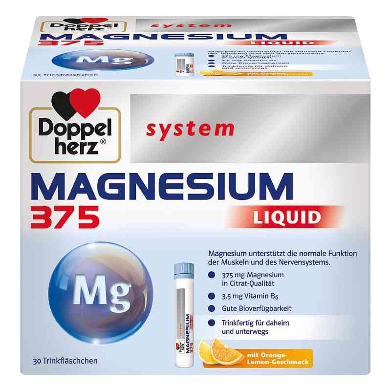 Doppelherz Magnesium 375 Liquid system Trinkampulle (n)   zamów na apo-discounter.pl