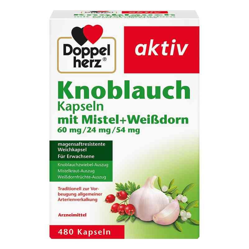 Doppelherz czosnek z jemiołą + głóg, kapsułki  zamów na apo-discounter.pl