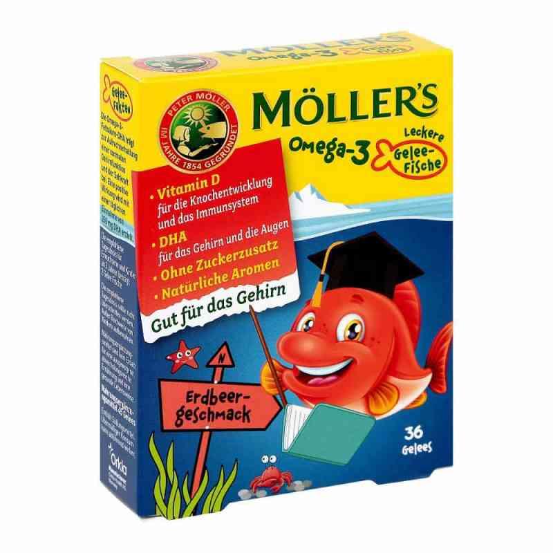 Möller's Omega-3 Gelee Fisch Erdbeere Kautabletten  zamów na apo-discounter.pl