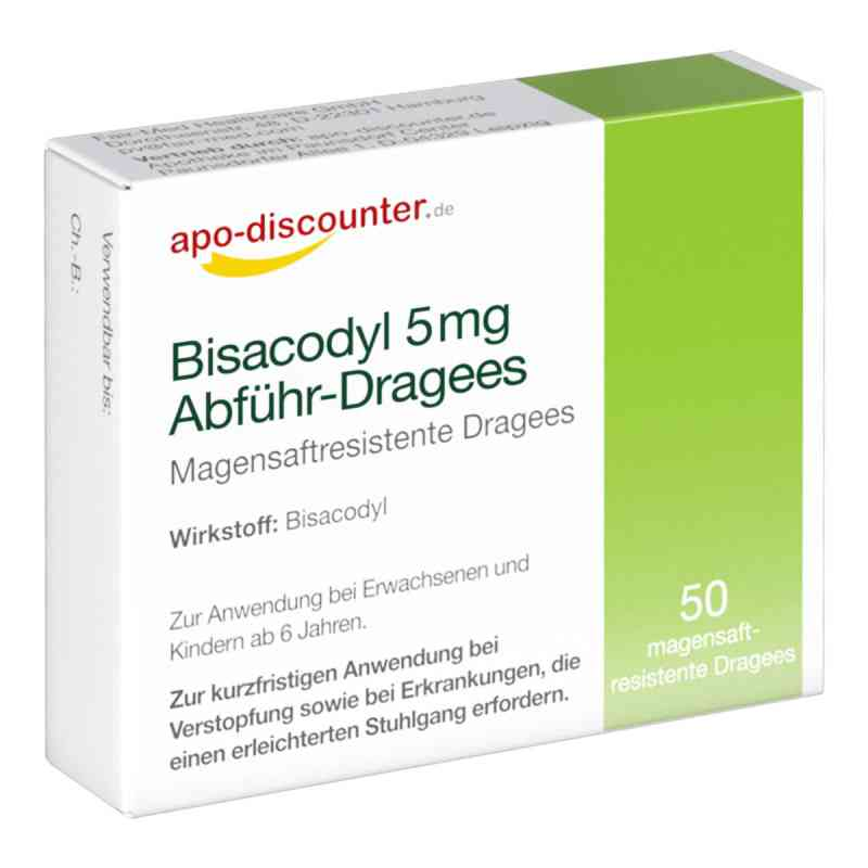 Bisacodyl 5 mg drażetki  zamów na apo-discounter.pl