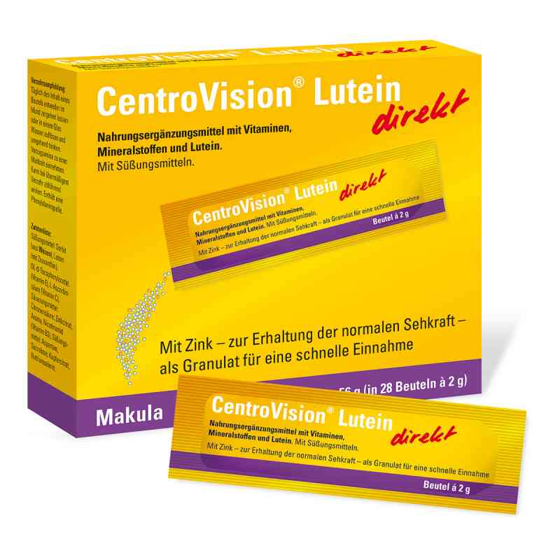 Centrovision Lutein direkt Granulat  zamów na apo-discounter.pl