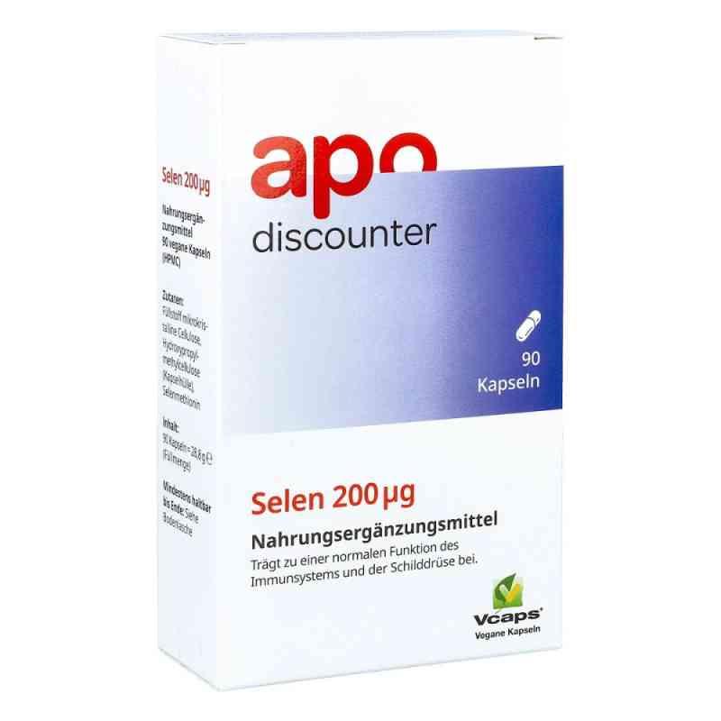 Selen kapsułki 200 µg  zamów na apo-discounter.pl