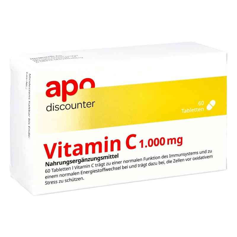 Vitamin C1000  mg tabletki 60 szt. od Apologistics GmbH PZN 16656889