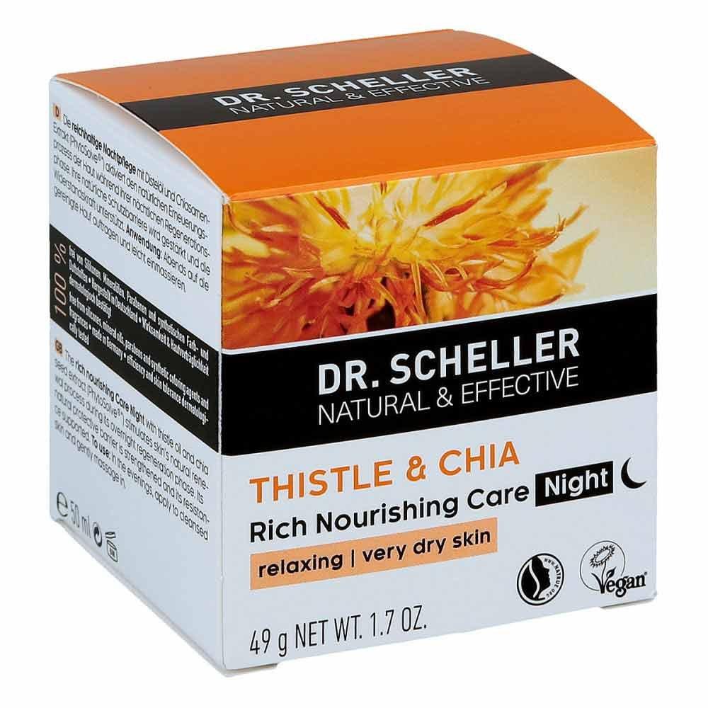 Dr.scheller Distel&chia krem na noc 50 ml - apteka..