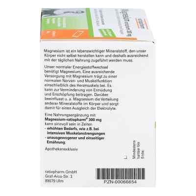 Magnesium Ratiopharm 300 mg Micro Pell.m.gran.  zamów na apo-discounter.pl