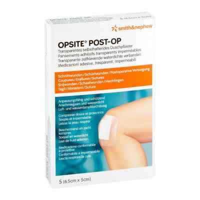 Opsite Post Op Opatrunki 6,5x5 cm  zamów na apo-discounter.pl
