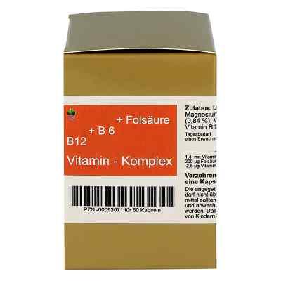 Bioxera witamina B12 + B6 + kwas foliowy kapsułki