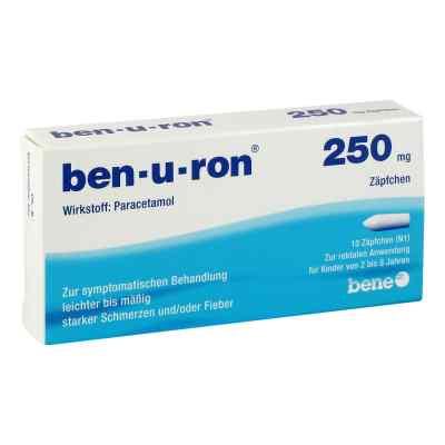 Ben U Ron 250 mg Kleinkdr.suppos.