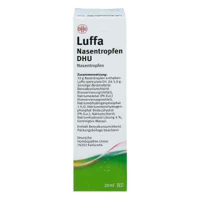 Luffa Nasenspray Dhu Dos.-spray  zamów na apo-discounter.pl