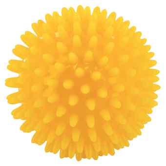 Piłeczka do masażu 8 cm żółta  zamów na apo-discounter.pl