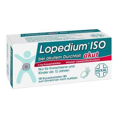 Lopedium akut Iso bei akut.Durchf. Brausetabl.  zamów na apo-discounter.pl
