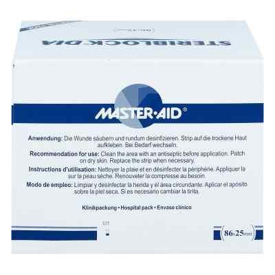 Steriblock Pflasterstrips 86x25mm Master Aid  zamów na apo-discounter.pl